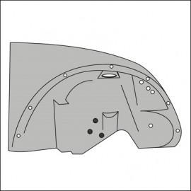 fianchetto anteriore completo di passaruota DX 1302/03