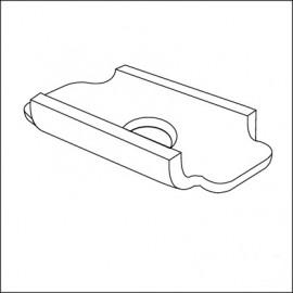 placchetta per bullone fissaggio scocca/pianale (cad.)