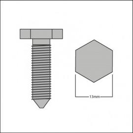 bullone a punta per fissaggio scocca/pianale (cad.)