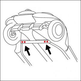 bullone fissaggio anteriore scocca/pianale (cad.)