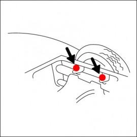 bullone fissaggio scocca/avantreno (cad.)