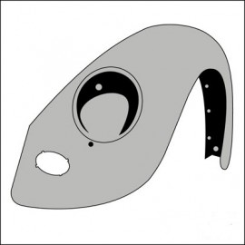 parafango anteriore SX fino 7/67