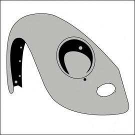 parafango anteriore DX fino 7/67