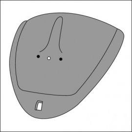 cofano posteriore 8/65 - 7/66