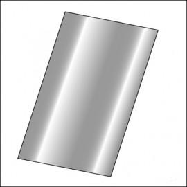 foglio di lamiera universale 50x100cm.