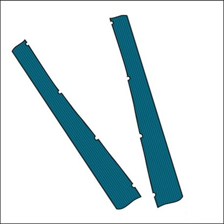 gomma pedana Satin-Blue (coppia)