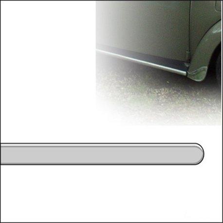 modanatura per pedana 8/66 - 7/72 in alluminio