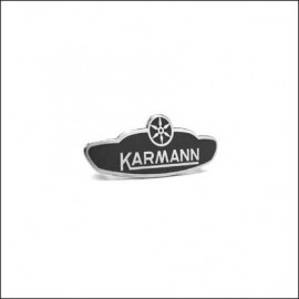"targhetta laterale ""Karmann"" per cabrio 08/59 in poi"