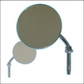 specchietto retrovisore rotondo fino 7/67 sx o dx