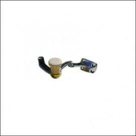 meccanismo chiusura con pomello nero pop-out DX - 64