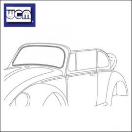 guarnizione parabrezza cabrio 65 - 72