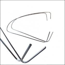 profili alluminio vetri laterali posteriori 10/52-7/64 (coppia)