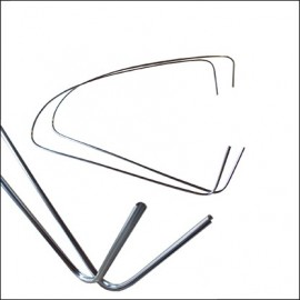 profili alluminio vetri laterali posteriori 8/64-7/71 (coppia)