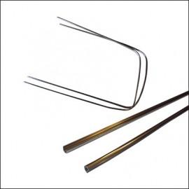 profilo in alluminio parabrezza cabrio 8/63 - 7/72