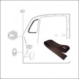 guarnizione vetro-cornice deflettore (coppia)