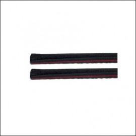 guarnizione verticale finestrino anteriore in feltro 65 - (cad.)