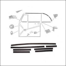 guarnizione vetri laterali/capote 65 - 79 (set)