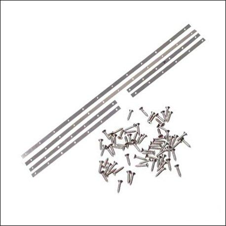 bacchette guarnizione vetri laterali/capote 73-79