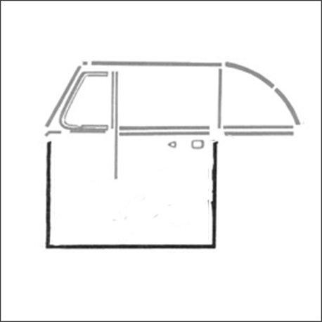 guarnizione portiera DX 65 - 79