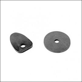guarnizioni maniglia cofano anteriore - 67 nere (set)