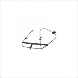 meccanismo alzavetro 8/64-2/68 dx
