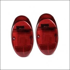 plastica rossa per fanalino 8/61 - 7/67 - (coppia)