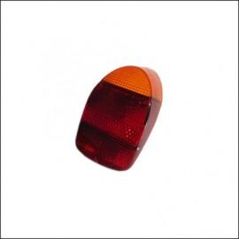 plastica per fanalino 8/67 - 7/72 rosso-arancione - cad.