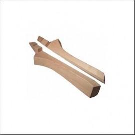 montanti legno esterni SX e DX 65 - 71