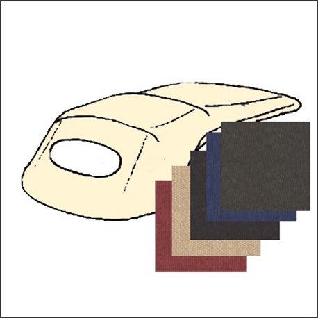 telo esterno capote 58 - 62 tessuto - colori bordeaux-beige-nero-blu-marrone