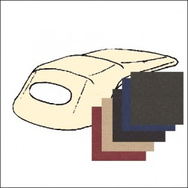 telo esterno capote 63 - 67 tessuto - colori bordeaux-beige-nero-blu-marrone