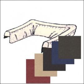copricapote 65 - 70 tessuto - colori bordeaux-beige-nero-blu-marrone