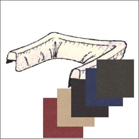 copricapote 70 1/2 - 71 tessuto - colori beige-nero-blu-marrone