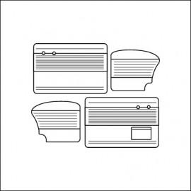 pannelli per porte ant/post bicolore TMI 8/64-7/66