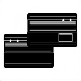 pannelli per porte ant. TMI 8/64-7/66 black 11