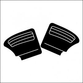 pannelli post. cabrio post. TMI NERI cabrio 65 - 72
