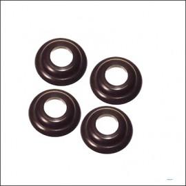 rondella sotto maniglie interne fino 7/55 nere (4 pz.)