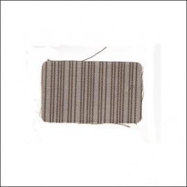 tessuto rigato originale a metraggio anni '60, largh. 140cm (3m per auto)