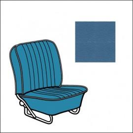 set fodere vinile TMI 8/57-7/64 water blue 24 con bordino off-white