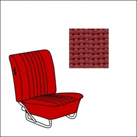set fodere vinile TMI 8/67-7/72 Basket Weave/red 07