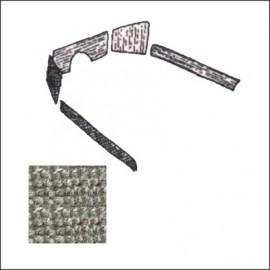 kit moquettes TMI 5 pz 69-72 grigio Premium Loop