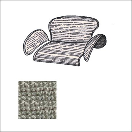 kit moquettes TMI portabagagli post. 58-64 grigio Premium Loop