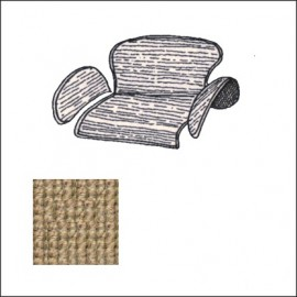 kit moquettes TMI portabagagli post. 65-72 beige (5 pz.)