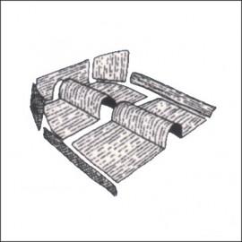kit moquettes completa materiale originale 8 pz dal 8/57 al 7/64 - Germany
