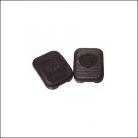 gomme pedali frizione-freno (2 pezzi) fino 7/55
