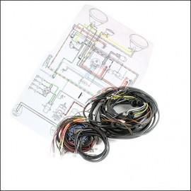 circuito elettrico CABRIO 58-59