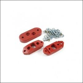 kit supporto elastico cambio urethano  - 7/72 (3pz.)