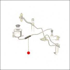 tubo raccordo serbatoio liquido - pompa freni -66