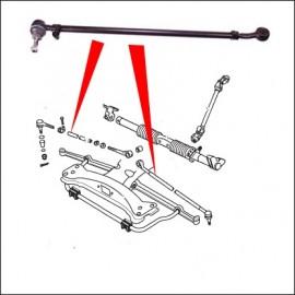 braccio sterzo completo DX/SX 1302/1303 8/74 in poi