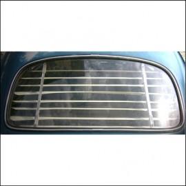veneziana in alluminio per lunotto rettangolare 65-71