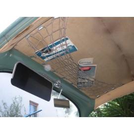 rete portaoggetti da tetto fino al  9/62 - grigio